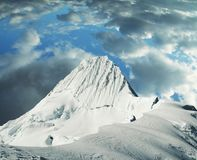 Alpamayo peak Royalty Free Stock Images