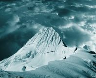 Alpamayo peak Royalty Free Stock Images