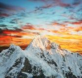Alpamayo peak Stock Photo