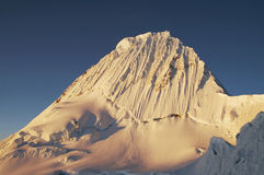 Alpamayo peak Stock Photography