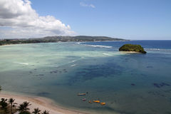 Alpat island in Guam Stock Photos