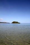 Alpat island in Guam. Micronesia stock image