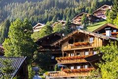 Alpbach, Austria Immagini Stock Libere da Diritti