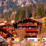 Alpbach, Austria Fotografia Stock
