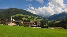 alpbach dolina obrazy royalty free