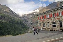 Alpe阴郁的驻地 库存图片