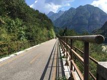 Alpe Adria Bike Path en Italie photos stock