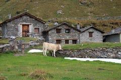Alpe Angeloga Immagini Stock