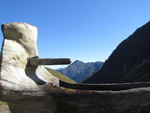 Alpe Barranca - Valsesia. Rima - Mountains Stock Image