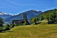 Alpe-castello italiano Principe Fotografia Stock Libera da Diritti
