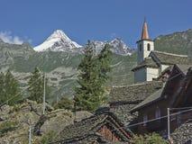 Alpe Cheggio in Val Antrona Fotografie Stock
