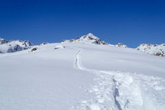 Alpe Croslina Fotografia de Stock