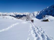 2013_Alpe Croslina Fotografia de Stock Royalty Free