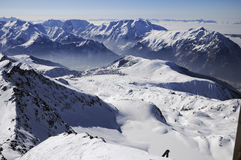 Alpe d'Huez Stock Images