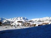 Alpe d'Huez Stock Photo