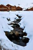 Alpe d'Huez, Frankrijk Stock Fotografie