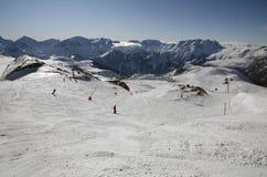 Alpe d'Huez ski resort. France Stock Photo