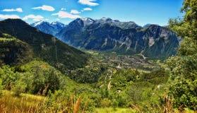 Alpe d`Huez Stock Images