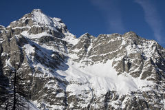 Alpe devero in winter Royalty Free Stock Photography