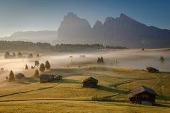 Alpe di Siusi lizenzfreie stockfotos