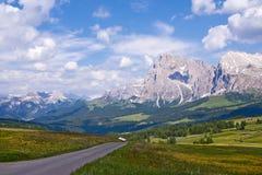 Alpe Di Siusi en Italie Photographie stock libre de droits