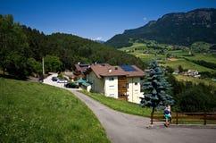 Alpe di Siusi en verano Imagen de archivo libre de regalías