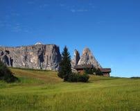 Alpe di Siusi, Italia Fotografie Stock Libere da Diritti