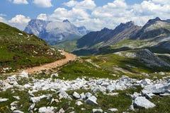 Alpe di siusi nel Tirolo del sud, Italia Fotografia Stock Libera da Diritti