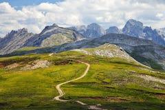 Alpe di siusi nel Tirolo del sud, Italia Fotografie Stock Libere da Diritti
