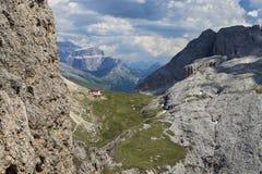 Alpe di siusi nel Tirolo del sud, Italia Immagine Stock Libera da Diritti