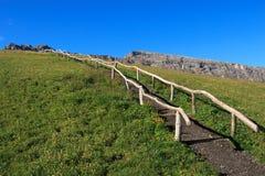 Alpe di Siusi Stock Image