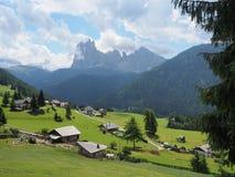 Alpe Di Siusi - Seiser Alm Italië royalty-vrije stock foto