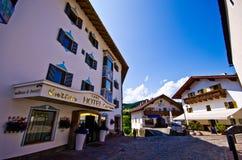 Alpe di Siusi town centre Stock Photography