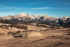 Alpe di Suisi Photographie stock