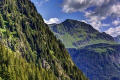 Alpe, Gaschurn-Partenen Fotografia Stock Libera da Diritti