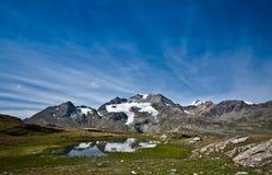Alpe grum Fotografie Stock Libere da Diritti