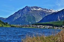 Alpe-lago italiano Haidersee Fotografie Stock