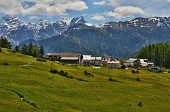 Alpe-Outlook svizzero del bos-cha Fotografia Stock Libera da Diritti