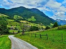 Alpe-prospettiva austriaca sul Lessach Immagini Stock Libere da Diritti
