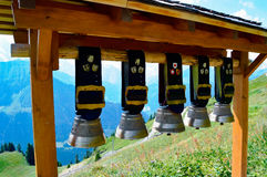 Alpe Svizzera del campanaccio Fotografia Stock