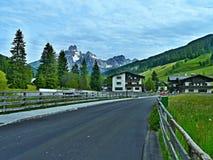 Alpe-vista austriaca del Bischofsmutze di punta Fotografie Stock Libere da Diritti