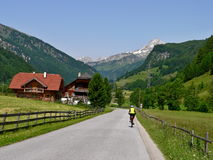 Alpi-Rorhenwand austriache Fotografia Stock