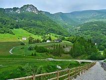 Alpe-vista italiana della strada Graziani Fotografia Stock