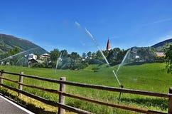 Alpe-vista italiana a Laudes Fotografie Stock