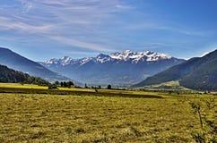 Alpe-viste italiane dello Stelvio Immagine Stock Libera da Diritti