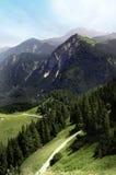 Alpe VUE Immagini Stock