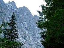 Alpejska góra Szwajcaria, Unterstock, Urbachtal Zdjęcie Royalty Free