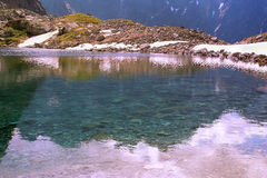 Alpejski jezioro Obraz Royalty Free