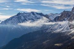 Alpejski krajobraz Zdjęcie Stock
