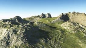 Alpejski krajobraz Fotografia Royalty Free